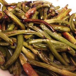 Roasted Garlic Scapes