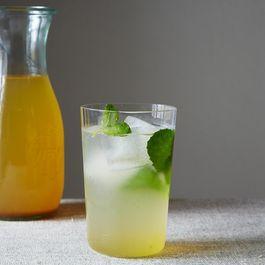 Saffron and Cardamom Lemonade Concentrate