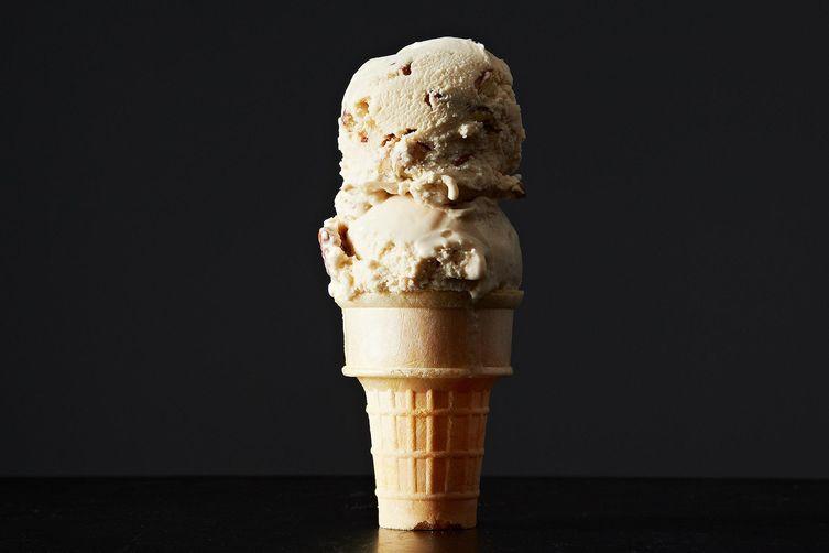 Browned Butter Pecan Ice Cream