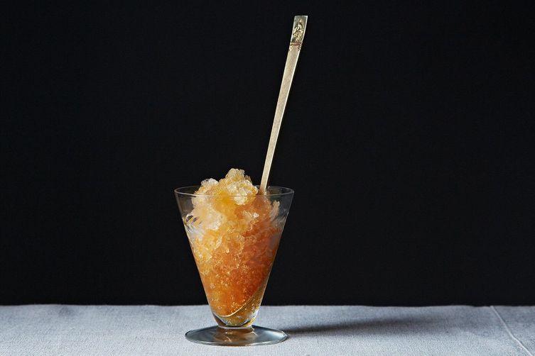 Iced Tea Granita