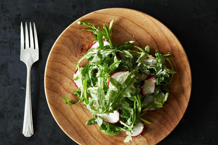 Radish and Arugula Salad
