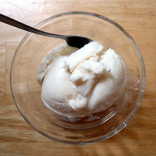 Rosemary Honey Lemon Frozen Yogurt