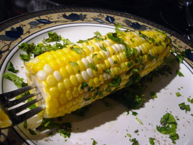 Corn on the Cob for One