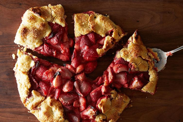 Strawberry Lime Crostata on Food52