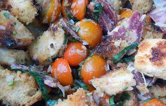 Grilled-bread-panzanella