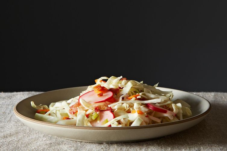 Pancetta Slaw from Food52