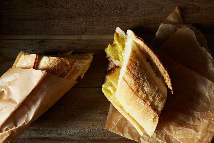 Bocadillo El Camino:  Spanish Omelet Sandwich To Go