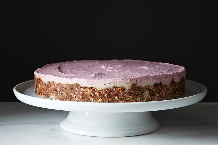 Raw, Vegan Strawberry Vanilla Cheesecake from Food52
