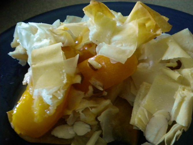 Apricot Phyllo Crisp