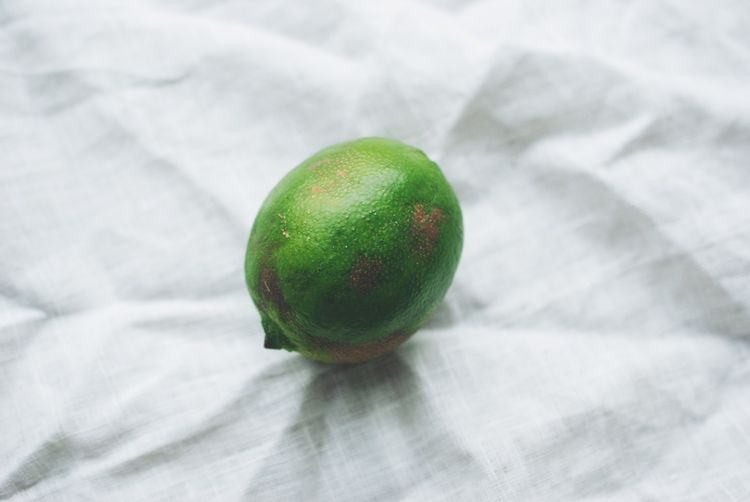 Peach Crisp with Vanilla-Lime Crumble