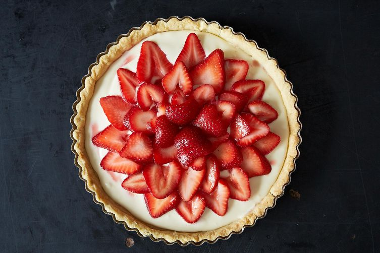 Strawberry Mascarpone Tart from Food52