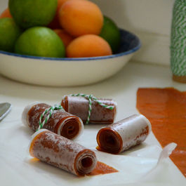 Apricot Lime Fruit Leather