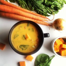Roasted Sweet Potato Coconut Stew Vegan