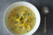 Tarragon Lemon Summer Squash Soup