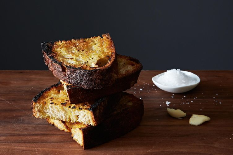 Grilled Garlic Toast on Food52