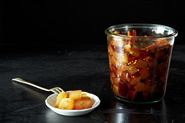Spicy, Savory & Sweet Watermelon Rind Pickles