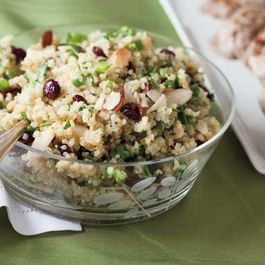 Simple quinoa salads
