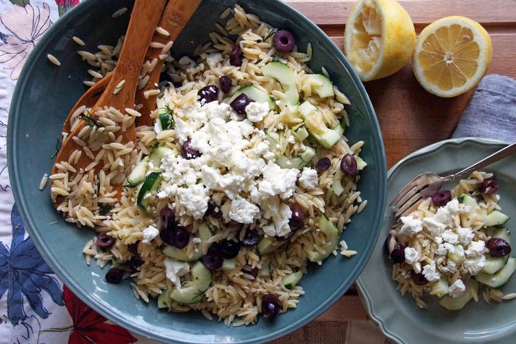 Lemon-Dill Orzo Pasta Salad from Food52