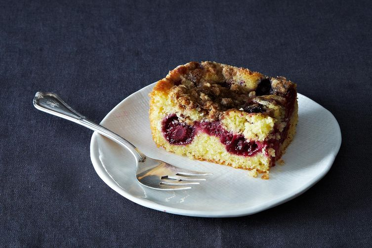Blackberry Cornbread Buckle from Food52