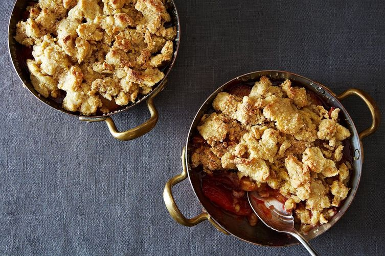 Spiced Plum Cobbler from Food52