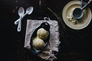 Sweet Corn and Black Pepper Ice Cream
