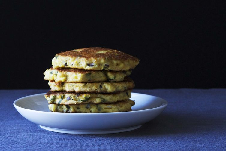 Summer Corn Cakes from Food52