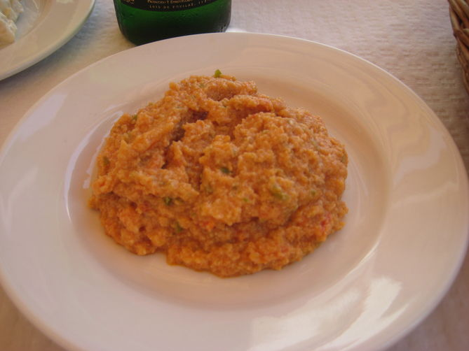Arranque Roteño (Thick Tomato Dip)