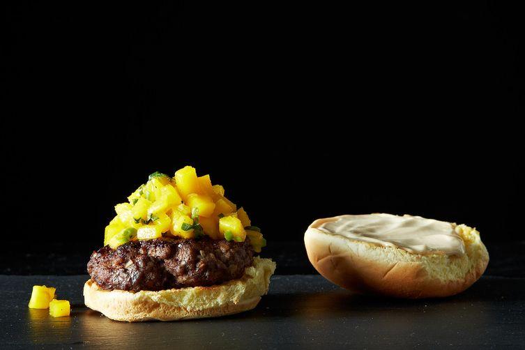 Glazed Five Spice Burger
