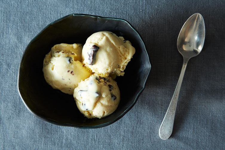 Malted Vanilla Ice Cream