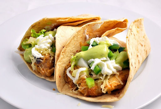 Mexican Turkey Tacos