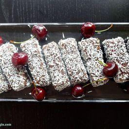 Chocolate Cherry & Coconut Breakfast Bars