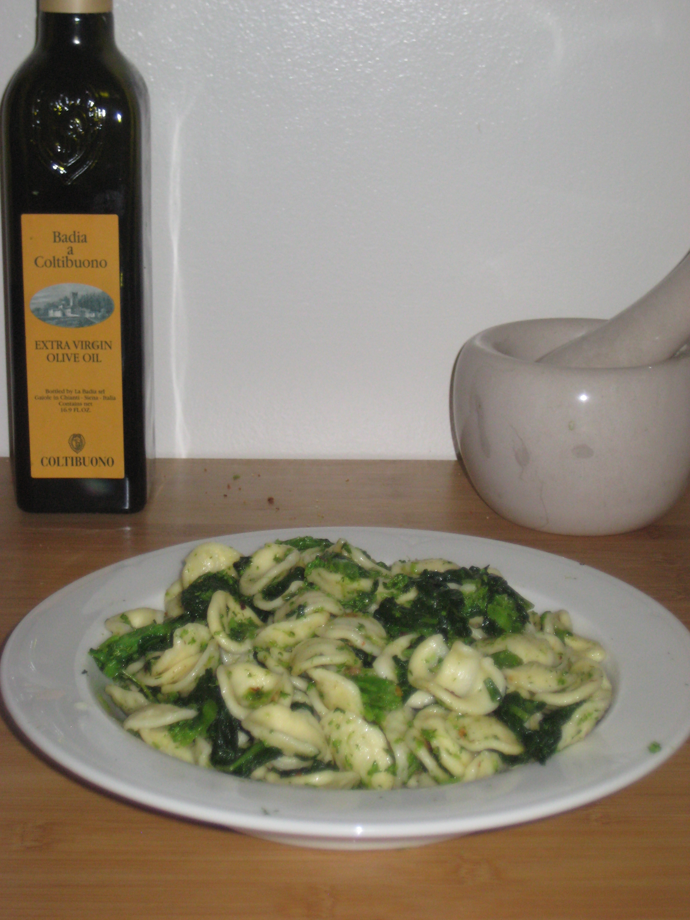Broccoli Rabe and Orecchiette