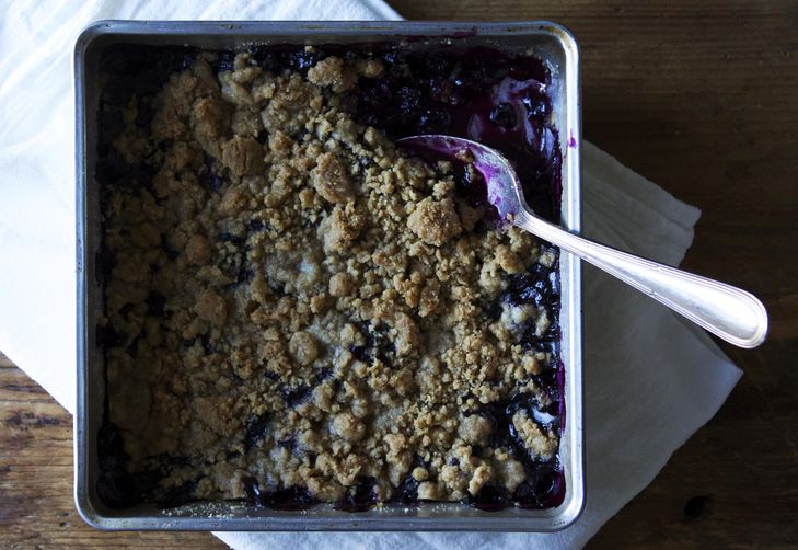 Blueberry Schlumpf from Food52