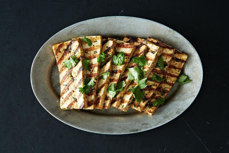 Grilled Peanut Tofu