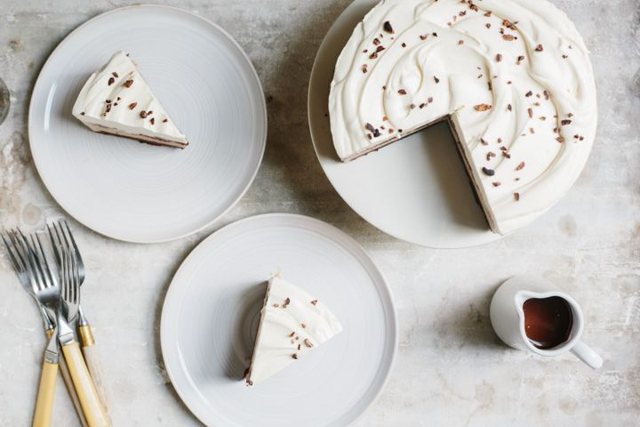 Chocolate Coffee Ice Cream Cake from Food52