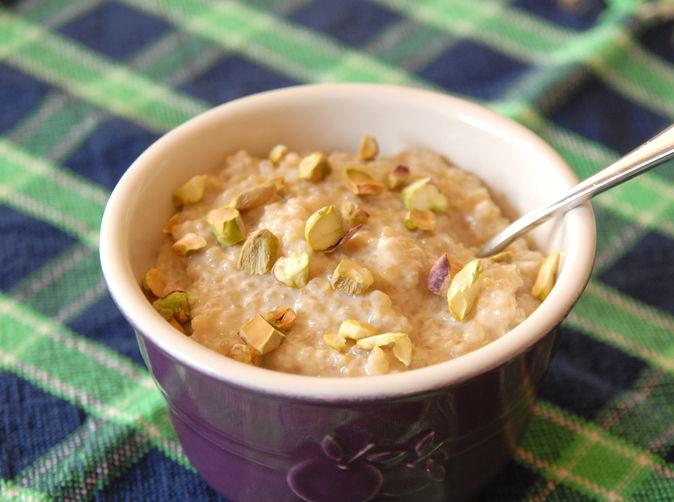 Quinoa date pudding