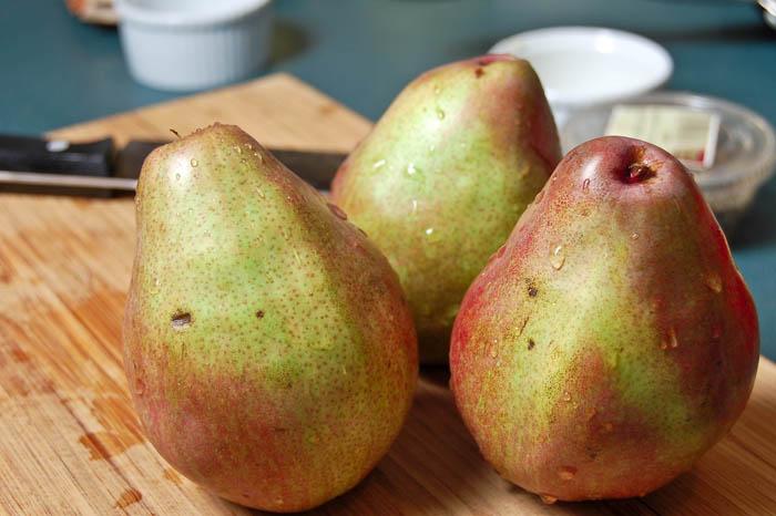 Pork Tenderloin w/ Sauteed Pears
