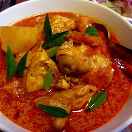 MALAYSIAN SPICY CHICKEN