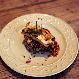 Vegan Rosh Hashanah Recipe: Pomegranate-Glazed Tofu & Quinoa