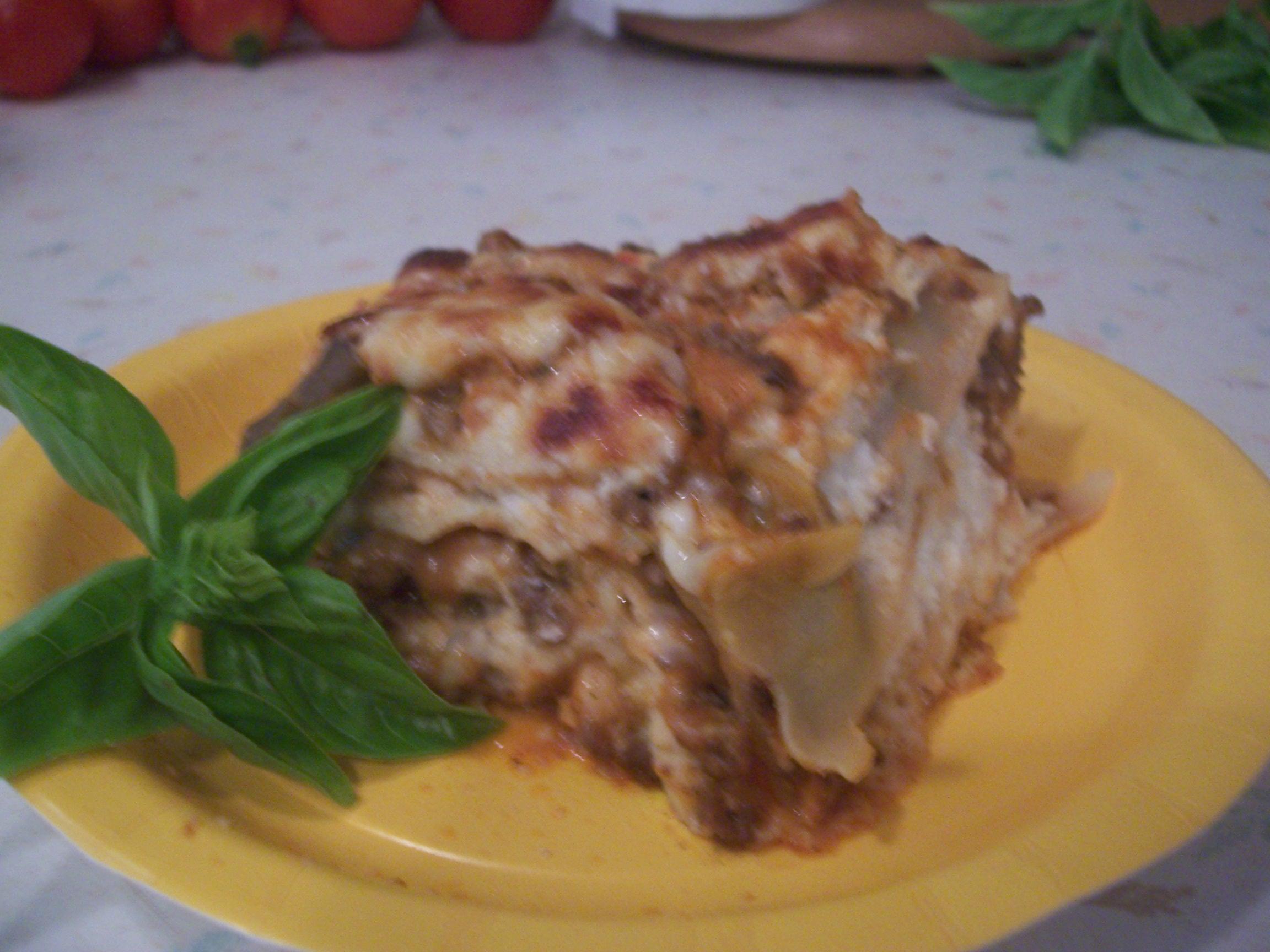 Creamy Tomato Lasagna