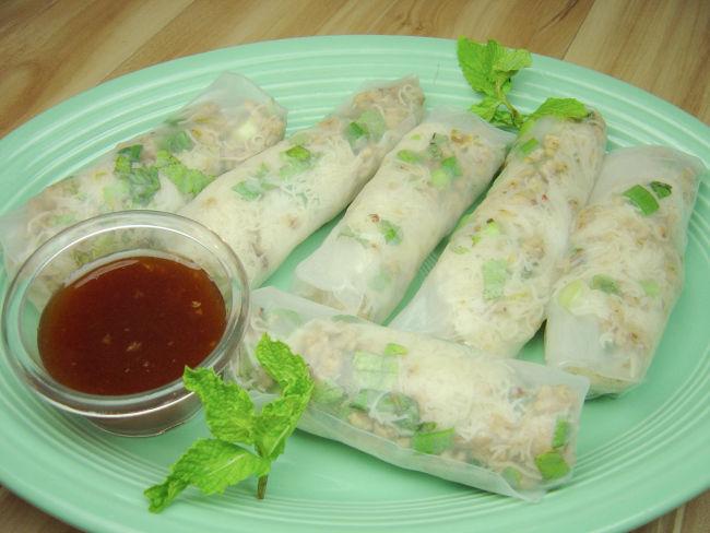 Thai Larb Soft Rolls