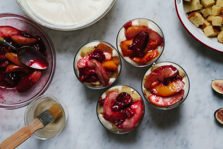 Late Summer Trifle