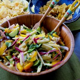 Jicama and Mango Salad