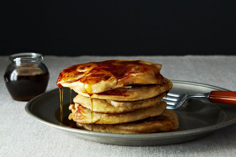 Fruit Laden Whole Grain Pancakes on Food52