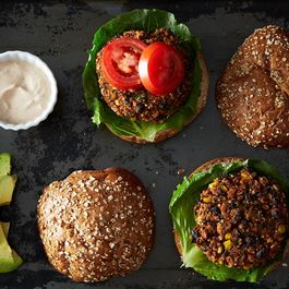 Black Bean and Quinoa Veggie Burgers