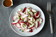 Radish Salad with Curry-Orange Dressing