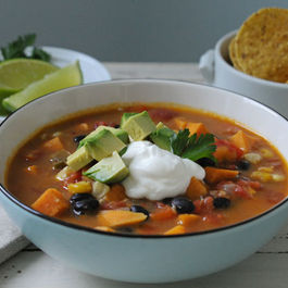 Blackbeansweetpotatosoup