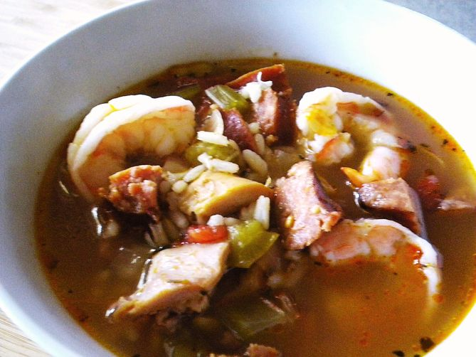 Jammin' Jambalaya Soup