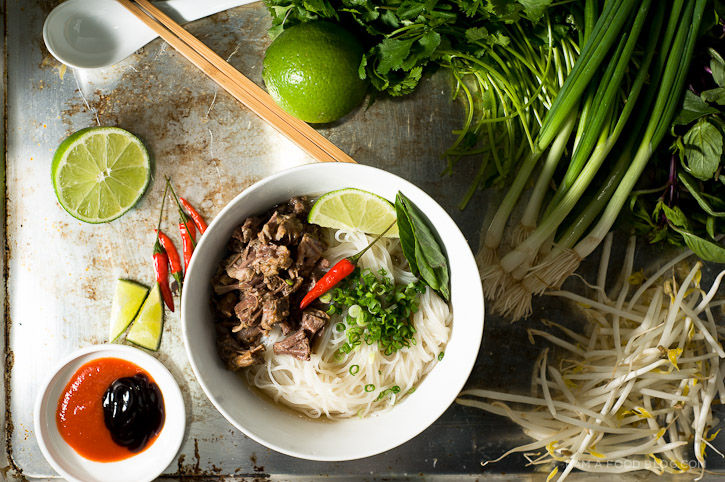 Heartwarming Oxtail Pho