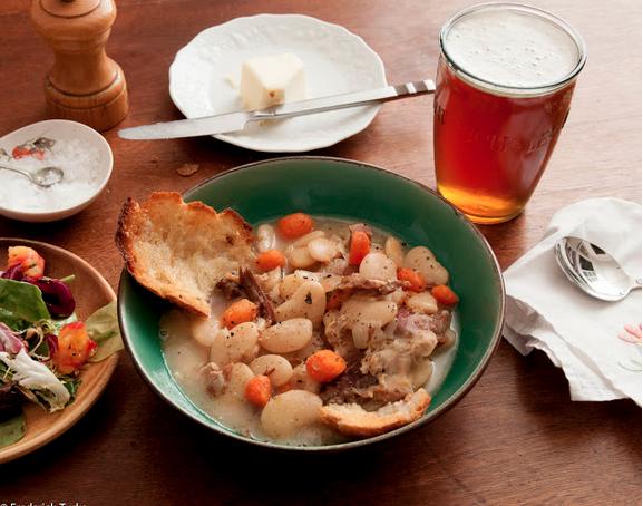 Ham Hock & Lima Bean Stew